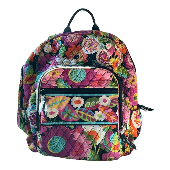 Vera Bradley Va Va Bloom Floral Backpack